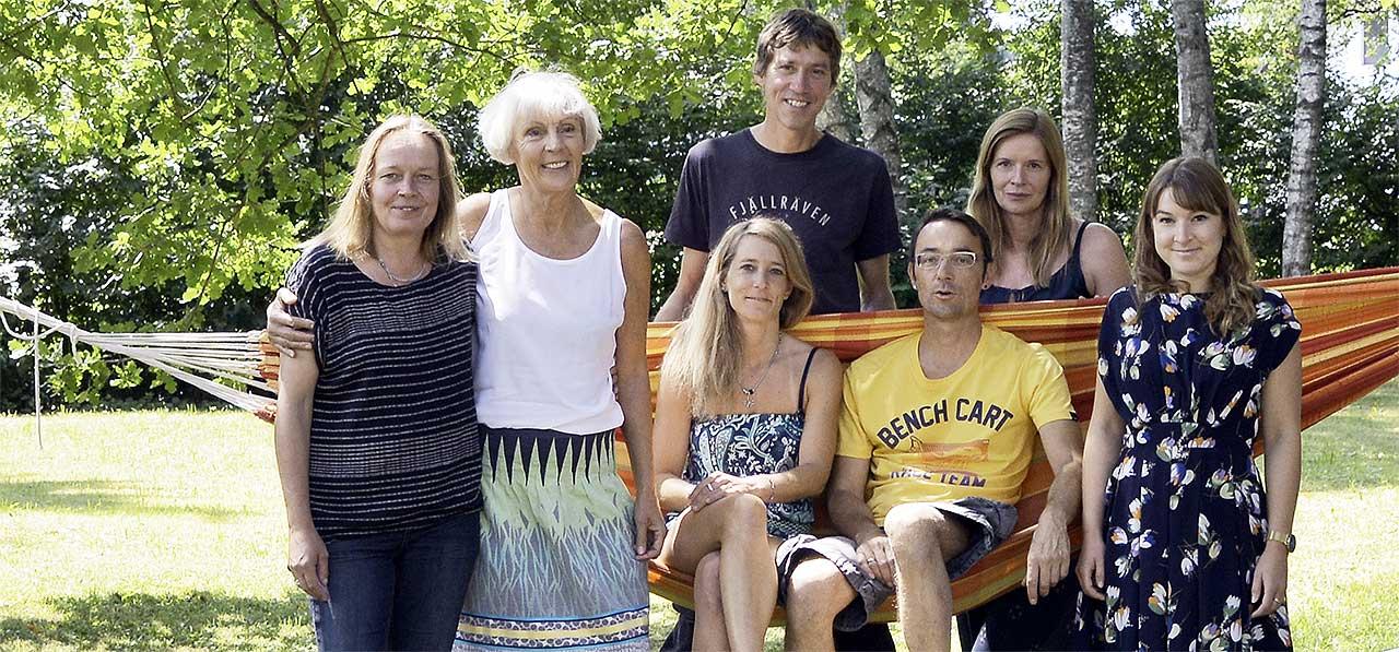 Das Team vom Haus südSee der südSee Kinder- & Jugendhilfe e. V. in Seeshaupt